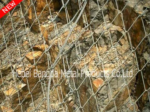 Flexible Slope Protection Netting