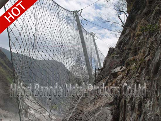 Flexible Slope Protection Netting01